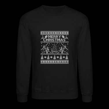 Ugly Christmas sweater for Melbourne storm fans - Crewneck Sweatshirt