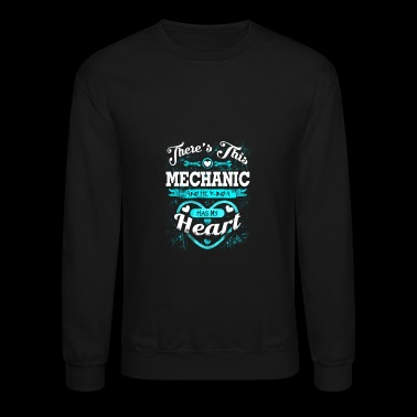 Mechanic - Mechanic - there is this mechanic & h - Crewneck Sweatshirt