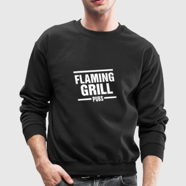 Flaming Grill - Crewneck Sweatshirt