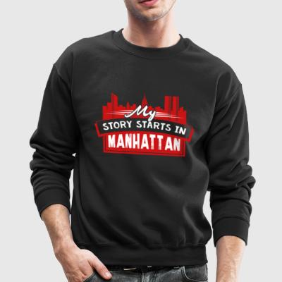 My Story Stars In Manhattan Tee Shirt - Crewneck Sweatshirt