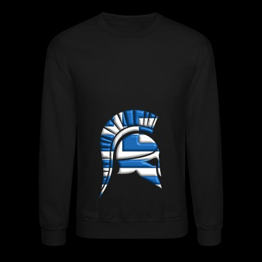 Greek ancient helmet - Crewneck Sweatshirt
