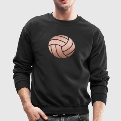Rose Gold Volleyball - Crewneck Sweatshirt