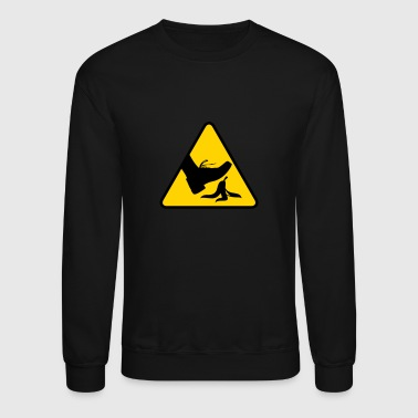 Risk Of Slipping With A Banana - Crewneck Sweatshirt