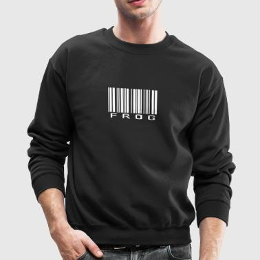 New Design Frog Barcode Best Seller - Crewneck Sweatshirt