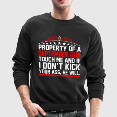 Property Of A September Guy - Crewneck Sweatshirt