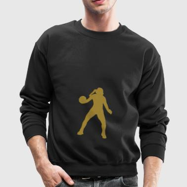 Golden Handball - Crewneck Sweatshirt