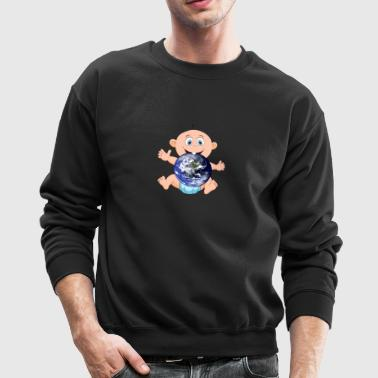 baby earth - Crewneck Sweatshirt