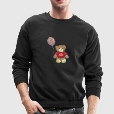 wild bear polar teddy bears brown grizzly panda ba - Crewneck Sweatshirt