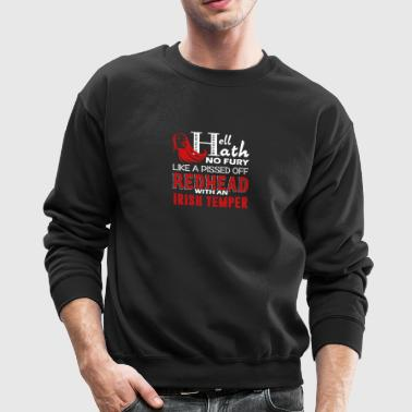 Pissed Off Redhead Shirt - Crewneck Sweatshirt