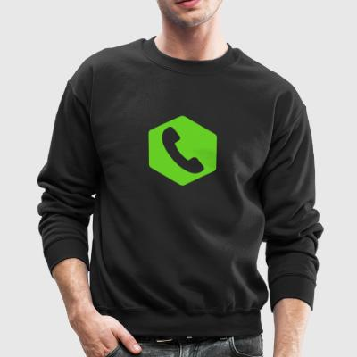 Call Tracking Pro Symbol Only - Crewneck Sweatshirt