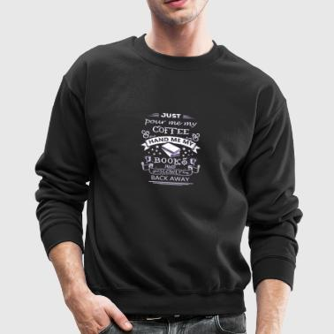 Books And Coffee - Crewneck Sweatshirt