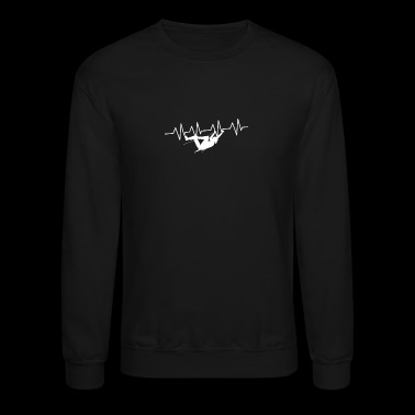 Heartbeats for Rock Climbing - Crewneck Sweatshirt