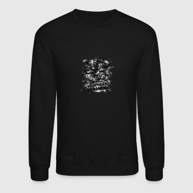 Baskteball.Luck. Skill. Concentrated Power of Will - Crewneck Sweatshirt