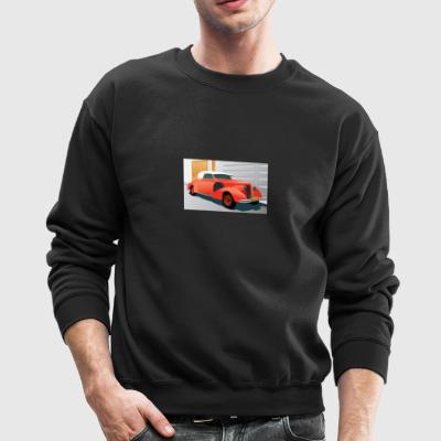 RED BUICK 1938 SPECIAL CONVERTIBLE - Crewneck Sweatshirt
