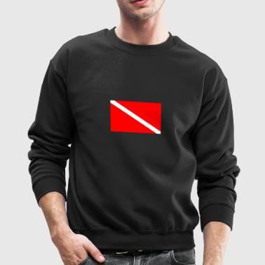 Dive Flag - Crewneck Sweatshirt