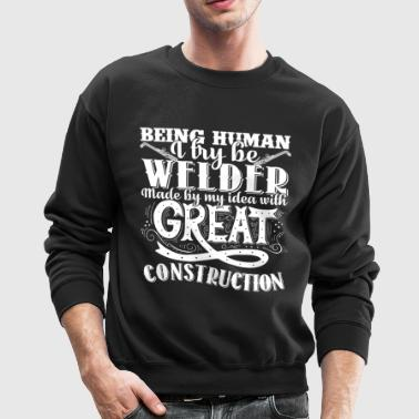 Welder T Shirts - Crewneck Sweatshirt