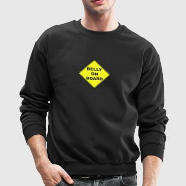 Belly On Board Beer - Crewneck Sweatshirt