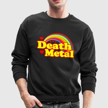 Death Metal Rainbow - Crewneck Sweatshirt