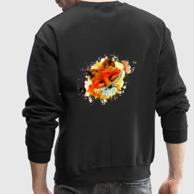 fox face - Crewneck Sweatshirt