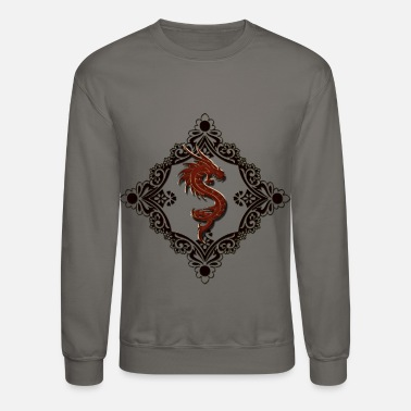 f17aa52e9 Wonderful decorative chinese dragon - Unisex Crewneck Sweatshirt