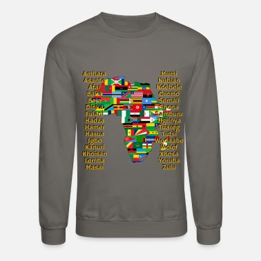 Africa People of Africa - Unisex Crewneck Sweatshirt