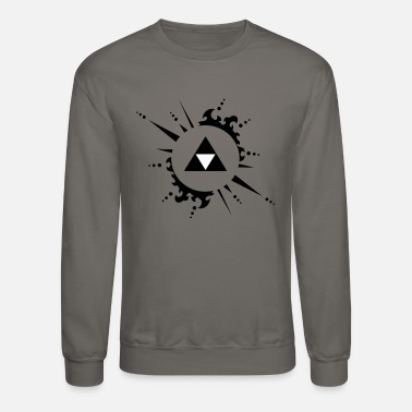 Legend The legend of zelda Triforce vectorized - Crewneck Sweatshirt