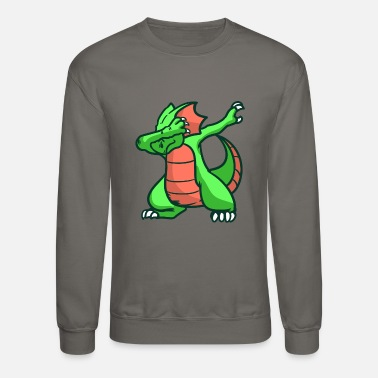 Mythical Creature Dragon, fire, mythical creature - Crewneck Sweatshirt