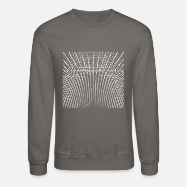 Geometric wave patterns unique & unusual - Unisex Crewneck Sweatshirt