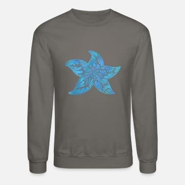Starfish Starfish zentangle - Unisex Crewneck Sweatshirt