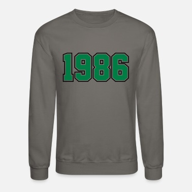 Year Of Birth 1986 | Year of Birth | Birth Year | Birthday - Unisex Crewneck Sweatshirt