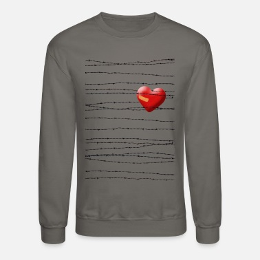 Wire barbed wire - Crewneck Sweatshirt