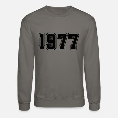 Year Of Birth 1977 | Year of Birth | Birth Year | Birthday - Unisex Crewneck Sweatshirt