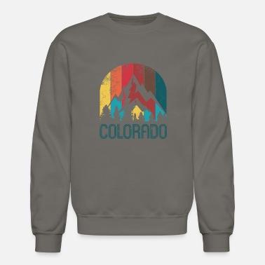 6e36da6bd06d4 Colorado Retro Colorado Design for Men Women and Kids - Unisex Crewneck  Sweatshirt