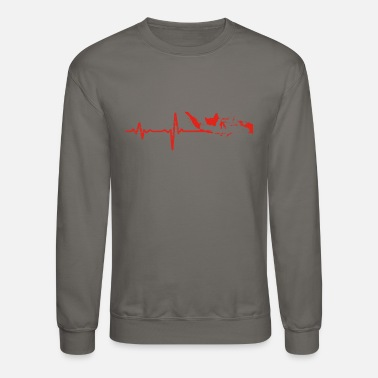 Indonesia Heartbeat Indonesia gift - Crewneck Sweatshirt