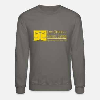 Novelty Law Offices of Vincent L. Gambini - Funny Novelty - Crewneck Sweatshirt