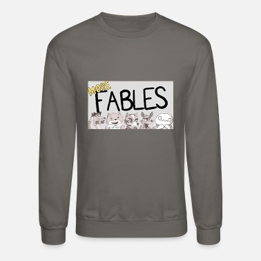 Fable READING MORE FABLES THEODD1SOUT - Crewneck Sweatshirt