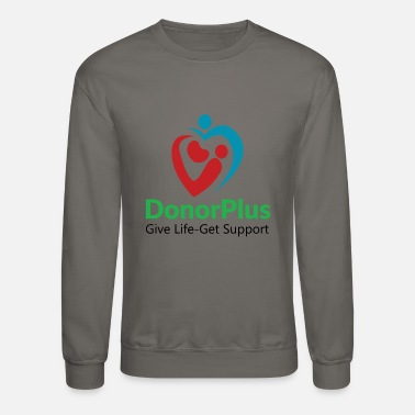 Donorplus DonorPlus - supporting living kidney donors - Unisex Crewneck Sweatshirt
