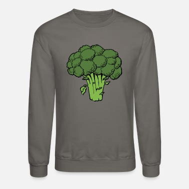 Broccoli Broccoli Brocoli Veg Veggie Vegetable Gift Present - Crewneck Sweatshirt