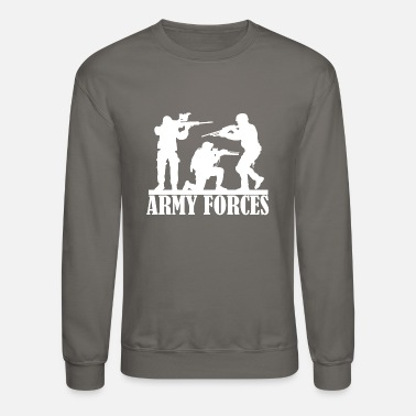 Armed Forces Military Armed Forces Army T-Shirt Design for army - Unisex Crewneck Sweatshirt