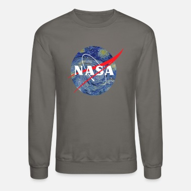 Night NASA starry night - Unisex Crewneck Sweatshirt