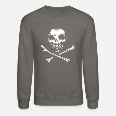 Skull And Bones cool skull cross bones - Crewneck Sweatshirt
