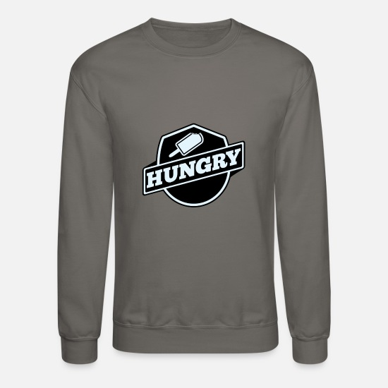 New World Order Hoodies & Sweatshirts - Hungry New - Unisex Crewneck Sweatshirt asphalt gray