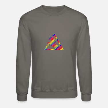Rainbow Galaxy Unicorn Rainbow Unicorn - Unisex Crewneck Sweatshirt