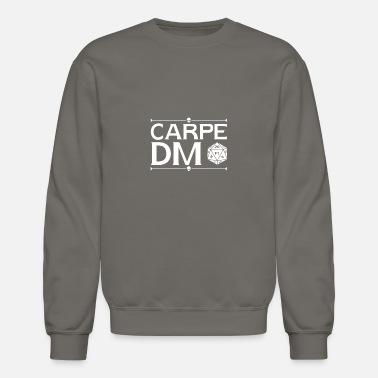 Funny DND Gift D and D Gift Carpe Dm D20 Carpe Dm Quotablee Carpe Dm Unisex Hoodie