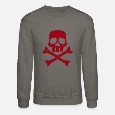 Tribal S Captain Harlock s Jolly Roger - Crewneck Sweatshirt