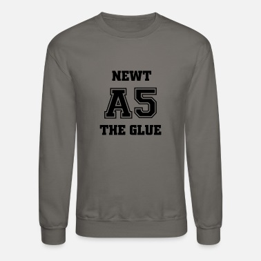 Newt Newt A5 The Glue Newtmas Thomas Maze Runner Movie - Unisex Crewneck Sweatshirt