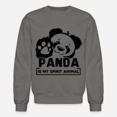 7a40cae55 Men's Hoodie. Cute Intergalactic Astronaut Panda. from $41.49 · Panda Panda  Is My Spirit Animal Shirt - Unisex Crewneck Sweatshirt