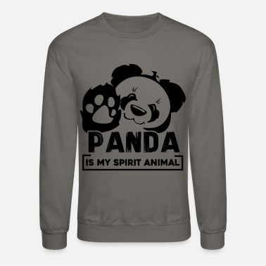 Panda Panda Is My Spirit Animal Shirt - Crewneck Sweatshirt
