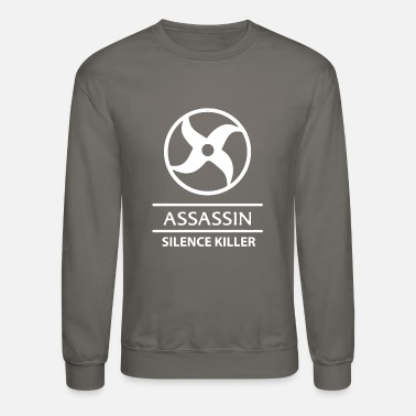 Mobile Legends Assassin white - Unisex Crewneck Sweatshirt