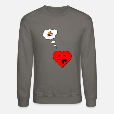 Hungry hungry heart! - Unisex Crewneck Sweatshirt
